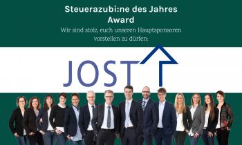 Die Jost AG: Unser Hauptsponsor des ersten Steuerazubi/ne des Jahres – Award